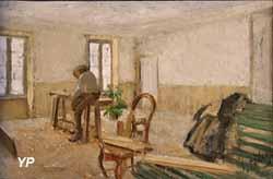 Menuiserie à Pont-Aven (Otto Hagborg, 1888)