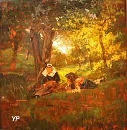 Sous-bois à Pont-Aven (Jules Girardet, 1879)