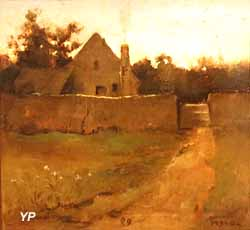 Paysage de ferme (Edward Loyal Field, 1889)