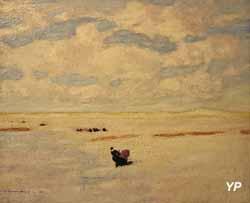 Bretonne dans la dune (Jean-Julien Lemordant, 1905)