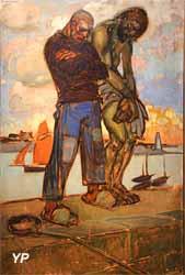 Le Christ et le pêcheur (Jean-Georges Cornelius, 1924)