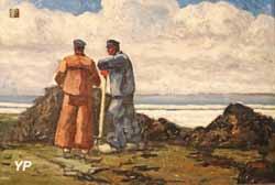 Deux goémoniers (Yves de Kerouallan, 1925)