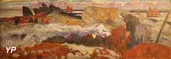 Brûleuse de goémon (Mathurin Méheut, 1930)