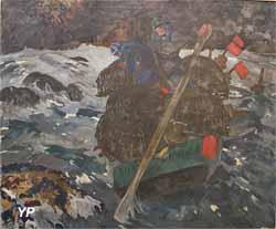 La relève des casiers en baie de Morlaix (Mathurin Méheut)