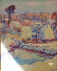 Neige (Pont-Aven) (André Jolly, 1906)