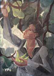 Autoportrait au figuier (Jean Deyrolle, 1941)