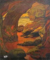 Grotte à Camaret (Georges Lacombe)
