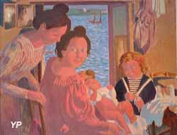 Maternité au Pouldu, effet du soir (Maurice Denis, 1899)