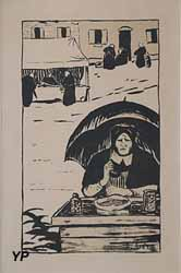 La Marchande de bonbons (Paul Sérusier, 1895)