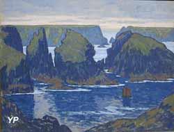 Belle-Île, Goulphar (Jean-Francis Auburtin, 1895)