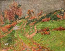 Pluie à Pont-Aven (Emile Jourdan, 1900)