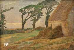 Ferme aux trois arbres (Adolphe Otto Seligmann)