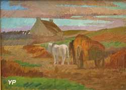 Chaumière d'Elena au Pouldu (Adolphe Otto Seligmann)