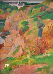 Rochers au bord de l'Aven (Henry Moret, 1891)