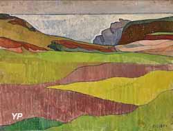 Paysage rocheux, le Pouldu (Charles Filiger, 1891)
