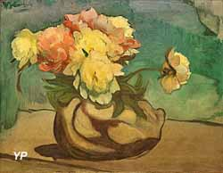 Pivoines dans un vase (Wladislaw Slewinski, 1899)