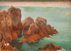 Les rochers à Belle-Île (Wladislaw Slewinski, 1894)
