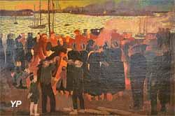 Feux de la Saint-Jean à Loctudy (Maurice Denis)