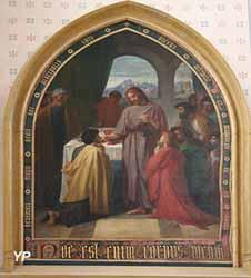 La Communion des Apôtres (Elie Delaunay, 1862)