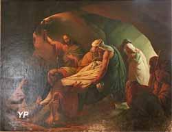 Ensevelissement de la Vierge Marie (Auguste van den Berghe, 1835)