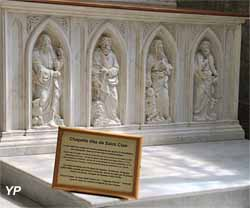 Autel de la chapelle de saint Clair