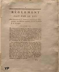 Convocation des États Généraux (19 février 1789)