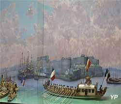 Visite de leurs majestés impériales à Brest