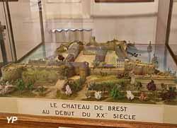Le château de Brest au début du XXe siècle
