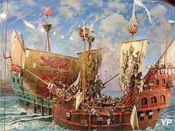Combat de la Marie Cordellière contre la flotte anglaise