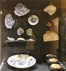 Commerce de porcelaine chinoise