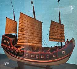 Jonque du Sud de la Chine (XIXe siècle)