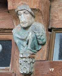 Maison à pan de bois place du Bouffay