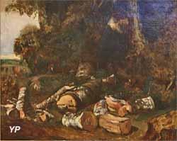 Forêt en automne (Constant Troyon, 1836)