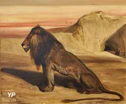 Le Lion de saint Jérôme (Gabriel Alexandre Decamps)