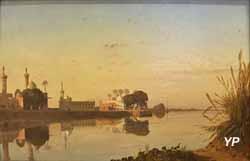 Vue du Nil de basse Égypte (Prosper Marilhat, 1840)