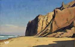 Falaises au Danemark sur la côte occidentale du Jutland (Carl Johan Neumann)
