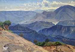 Dans les montagnes italiennes (Thorald Loessoe)