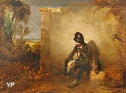 Le vieux garde-chasse Gassois à Hénonville (Gabriel Alexandre Descamps)