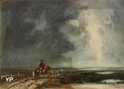 Le retour du grognard (Paul Huet, 1821)