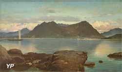 Embarcation sur la mer (Prosper Marilhat)