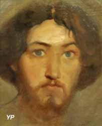 Tête d'Italien (Théodore Chassériau, 1840)