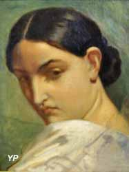Tête d'Italienne (Théodore Chassériau, 1840)