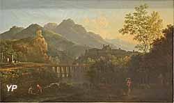 Vue de Tivoli (André-Jacques-Édouard Vanderburch)
