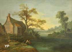 Paysage (Jean-Baptiste Oudry, 1745)