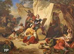 L'enfance de Callot (Charles Alexandre Debacq, 1844)