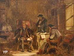 Henri VIII et ses conseillers (Charles-Louis Müller, 1880)