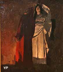 Dante et Virgil aux Enfers (Henri Martin, 1883)