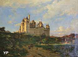 Le château de Pierrefonds (Emmanuel Lansyer, 1868)