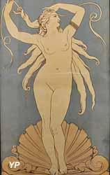 La naissance de Vénus ou Vénus anadyomène (Manufacture Boulenger frères, vers 1885)