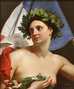 Les trois Glorieuses ou La Force a reconquis ses nobles couleurs aux trois mémorables journées de juillet 1830 (Merry-Joseph Blondel)